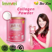 Brightening Low Calorie Cranberry Collagen Protein Powder Drink
