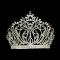 Factory directly can accept small quantity new design bridal peagent wedding tiara