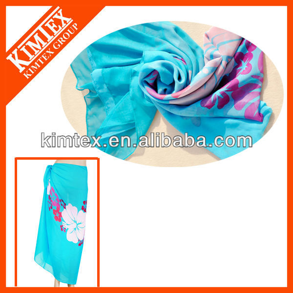 Hot custom printed new style fancy hijab scarf