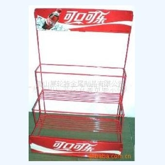 Cola display racks