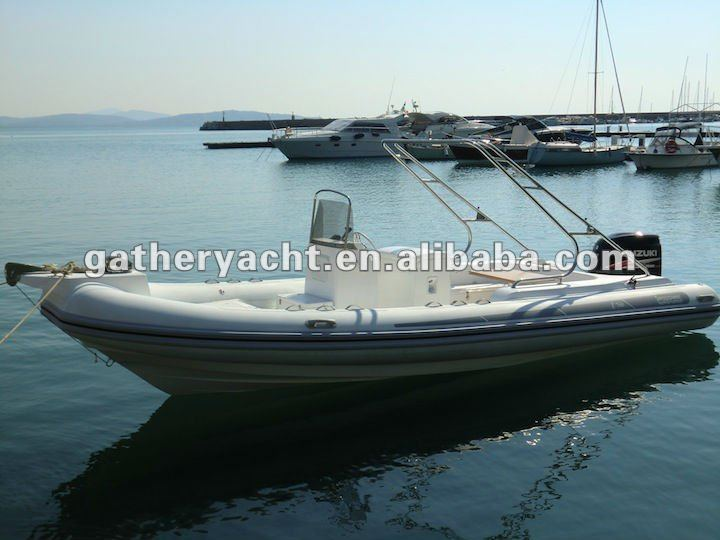 Luxury boat RIB760
