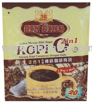 Sin Sing (Tupai) Kopi O 2 in 1 coffee
