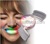Cool Interesting Cute LED Flashing Teeth Light Luminous Tooth Paste Luminous Braces Amazing Tricky Toy