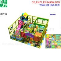 Newest Kids Used Indoor Party Playground Equipment For Sale
