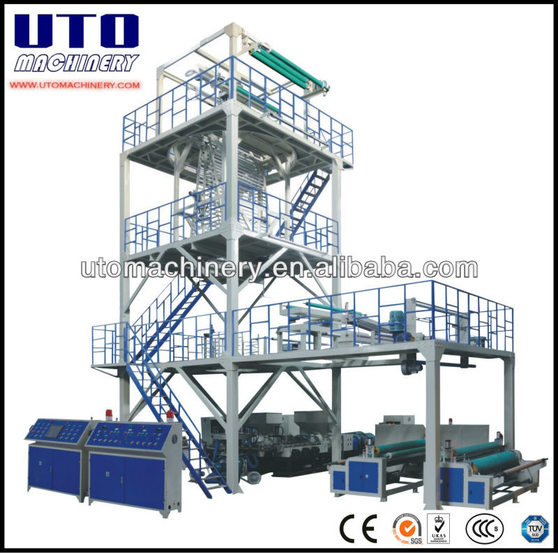 Multi layer co-extrusion film blowing machinery