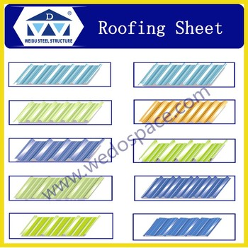 2017 roofing sheet steel sheet for warehouse