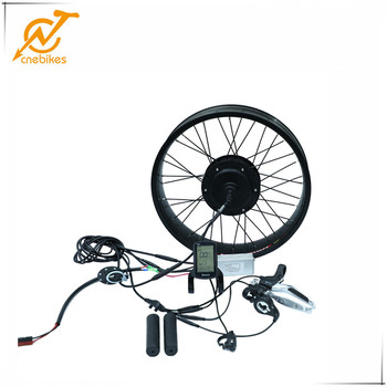 cnebikes 48v 1000w gearless brushless fat tire hub motor conversion kit