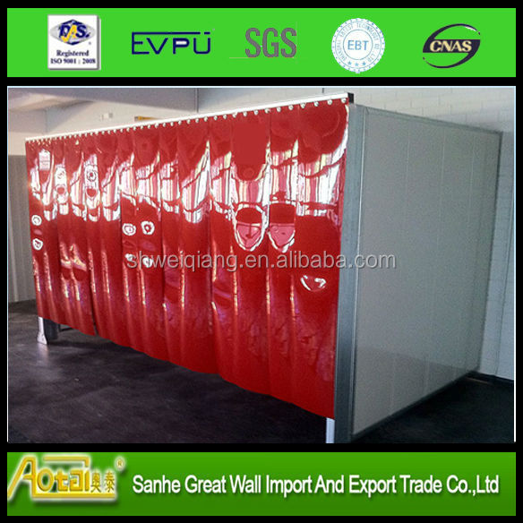 pvc Welding strip curtains for wall or doors