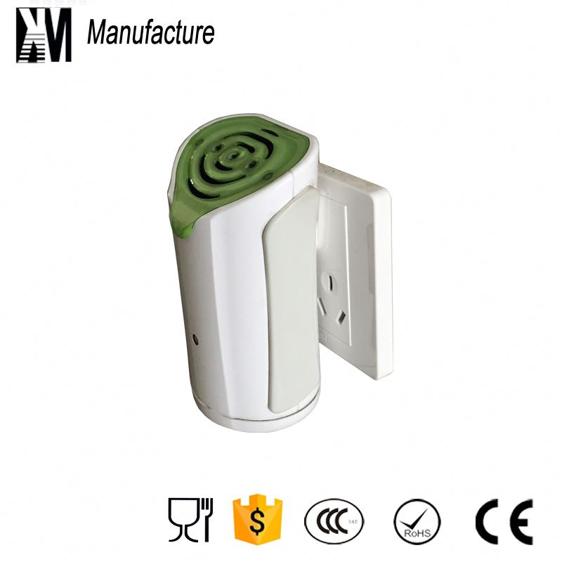 double fan & ion remitter ozone generator wall socket air purifier for car