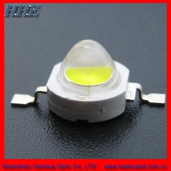 ISO9001 Supplier 1W 120-140lm white high power led