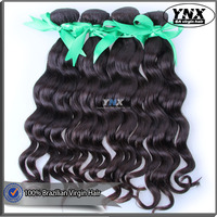 Guangzhou YNX online store wholesale hair extensions, natural wave brazilian hair wet wavy unprocessed full cuticle hair