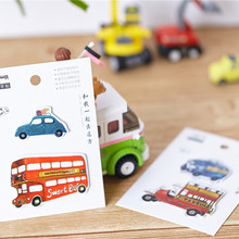 Cute Car Shape Post It Pad Sticky Notes Sticky Memo Pad