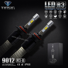 Newest Brightest r3 9600LM CR. XHP50 LED Headlight Conversion Kit Replaces Car Truck Halogen & Xenon HID light Bulbs