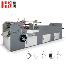 BJH-400 Good quality paper folding machine envelope gluing machine price