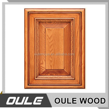 Chinese OEM Hot Sale Solid Wood Used Kitchen Cabinet Door