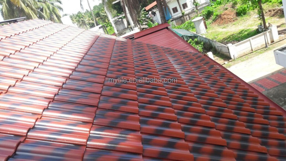 Hot Sale 2017 Double color Kerala ceramic roof tile