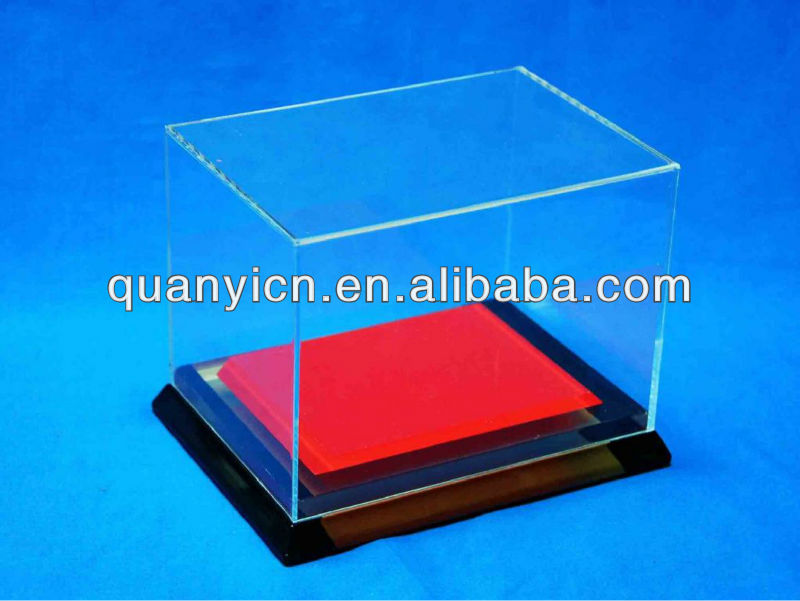 2014 customized clear acrylic shoe boxes