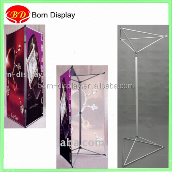 Factory sold aluminum exhibit trivision display screen triple