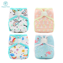 China factory Happy Flute colorful nappy panties washable baby cloth diapers cover
