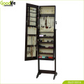 Floor standing jewelry cabinet living room furniture sets