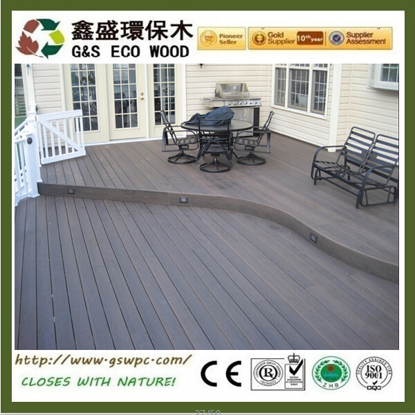 Anti-slip basketball court wpc flooring for sale
