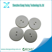 HF 13.56 mhz ISO15693 i code2 chip heat resist PPS RFID NFC laundry tag with two holes