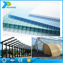 Make-to-order pc plate solar greenhouse glass plastic sheet for canopy