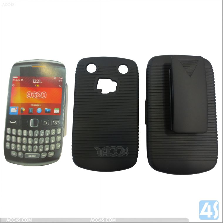 New products 2 in 1 PC Hard case with clip for BLACKBERRY 9620