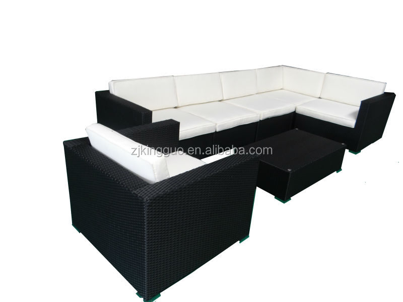 outdoor wicker/rattan seating/modular sofa set FS-3026