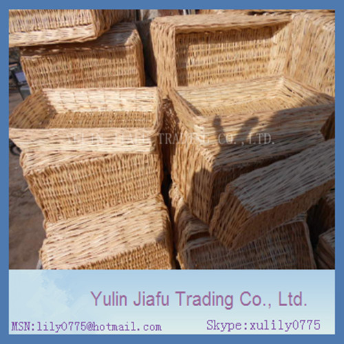 2014 CAC Fair hot sale handmade weaving willow basket