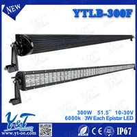 dual row LED Light Bar 52 inch 300 Watt, Spot/Flood light BOAT UTE ATV strobe / flash type
