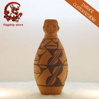 Latest technology ancient patterned trophy earthenware pottery