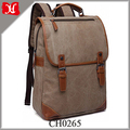 Vintage Style Casual College School Backpack Canvas Travel Laptop Backpack Bag