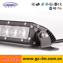 high quality 200W Slim single row led light bar for offroad trucks 4*4 auto cars