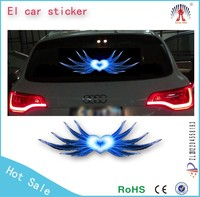 2015 Fashion Custom 3D sound activated car sticker design / car led stickers /equalizer el car sticker