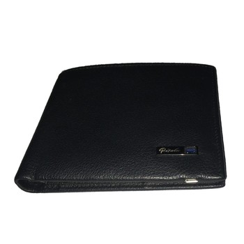 newest business casual genuine leather wallet with RFID blocking