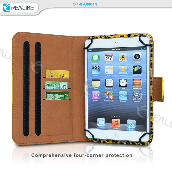 "for samsung galaxy tab active 8"" leather case , universal 360 rotate tablet case for 7""8"",new product alibaba China"