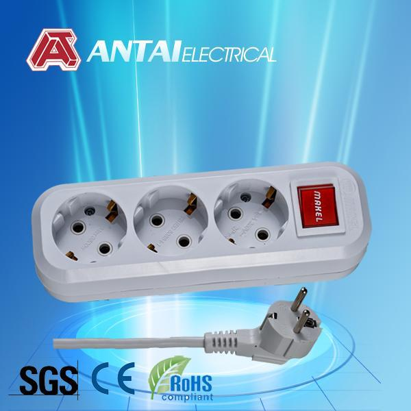 electrical earthed extention socket switch