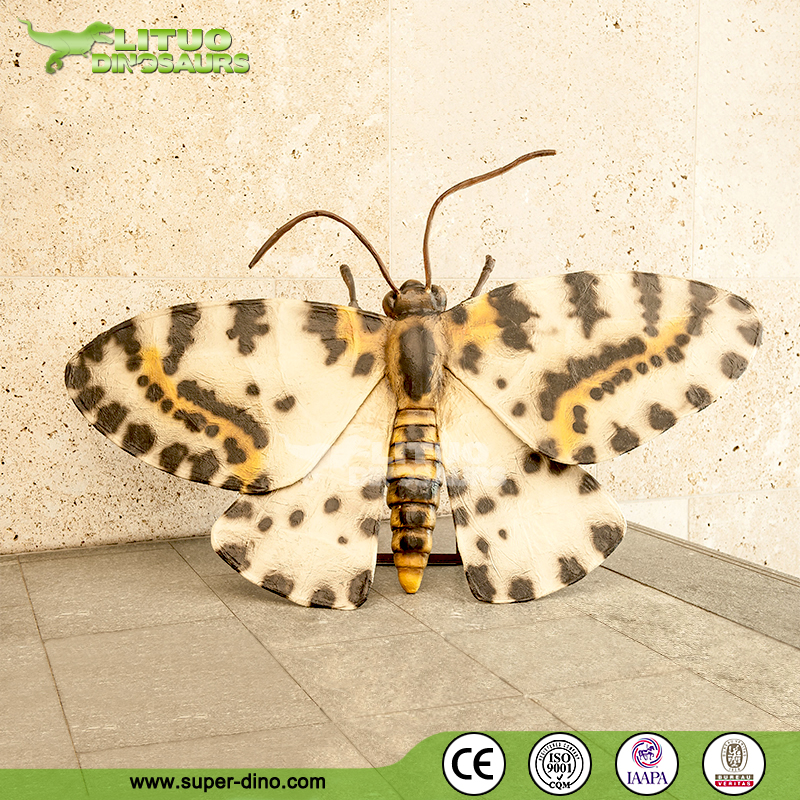 Indoor Fair Animatronic Insect of Giant Moth