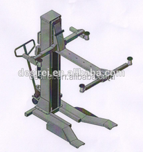 Hydraulic one post mobile auto garage lift equipment