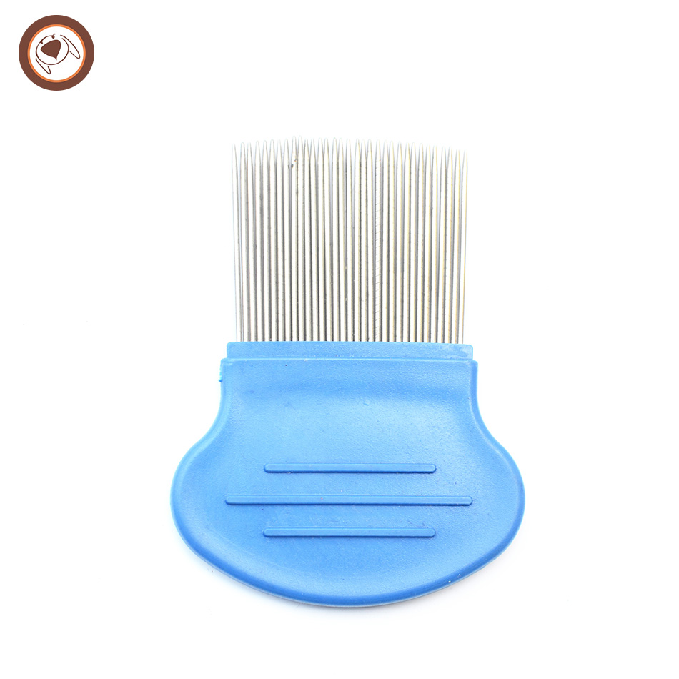 Lice comb with steel pins plastic hair comb hair comb for kids