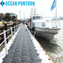 Wholesale Floating Plastic Used Pontoon Floats Dock