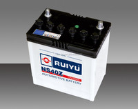 Korea Quality Dry Charged Battery Type and 12V Voltage Car Battery In Auto Battery