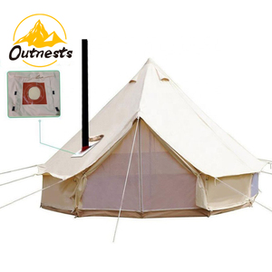 High Quality Canvas Bell Tent Tipi Tent Perfect For Camping