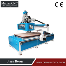 China Jinan lowest price CNC wood cutting machine equipment for furniture plywood door