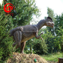 Custom Handmade Fiberglass Dinosaur statues on Sale