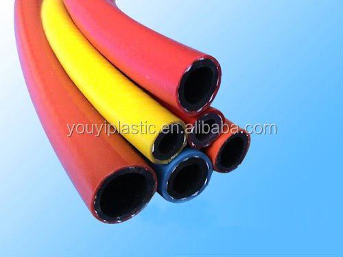 Colorful conveying oil gas high pressure PVC gas tube