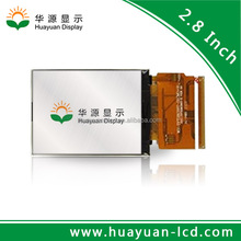 2.8 inch TFT touch ili9341c 240*320 tft transparent lcd panel