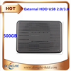 Hot selling 500GB external hard drive from original factory cheap to wholesale