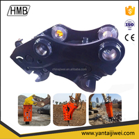 SUNWARD solid excavator coupler, hitch coupler, hydraulic quick coupler excavator